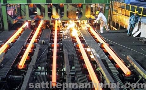Dây chuyền sản xuất sắt thép xây dựng hiện nay tại 2 Xây Nhà 2018