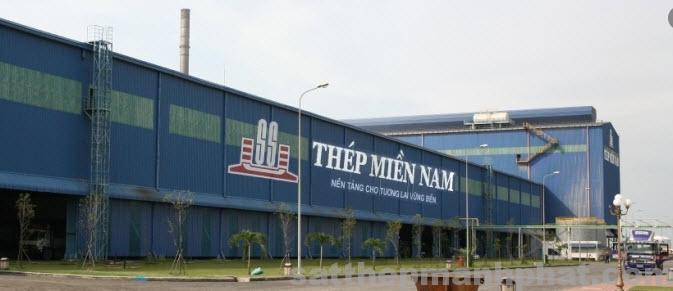 nhà máy thép miền nam